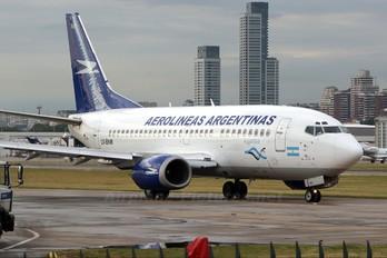 LV-BNM - Aerolineas Argentinas Boeing 737-500