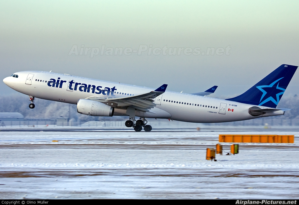 c gtsr air transat airbus a330 200 at manchester photo id 120065 airplane pictures net