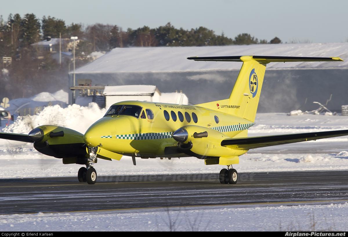 Lufttransport LN-LTI aircraft at Brønnøysund