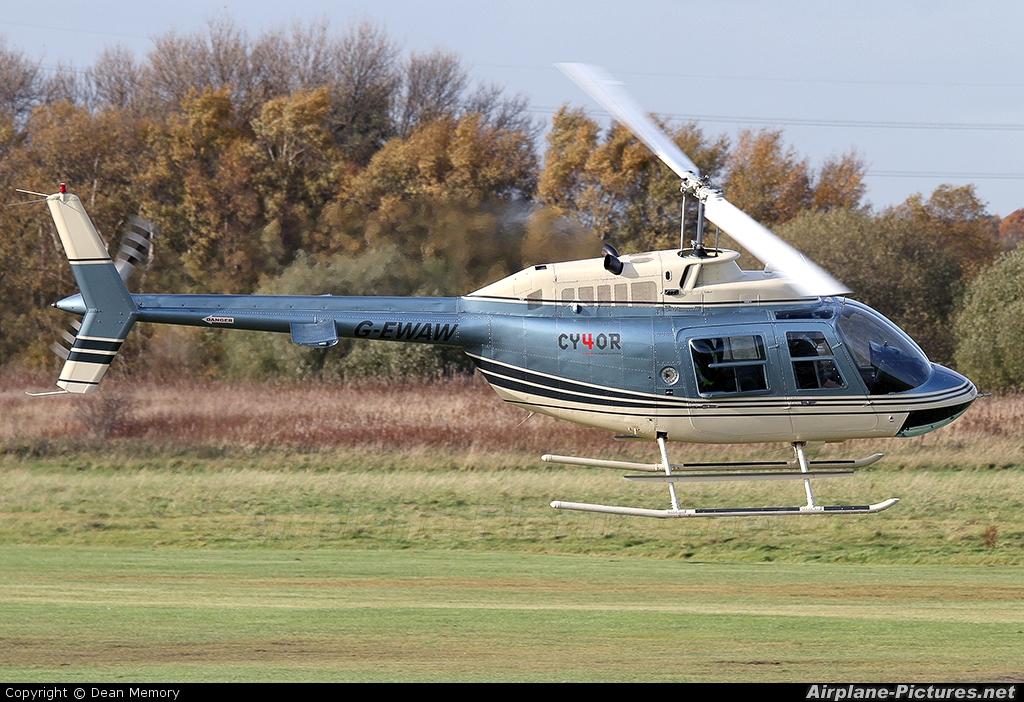 Private G-EWAW aircraft at Manchester - Barton