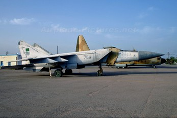 7811 - Libya - Air Force Mikoyan-Gurevich MiG-25P (all models)