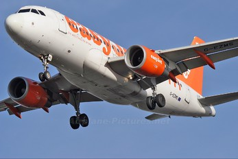 G-EZMS - easyJet Airbus A319