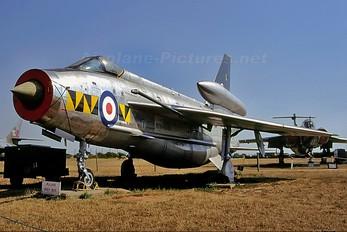 ZF588 - Royal Air Force English Electric Lightning F.53