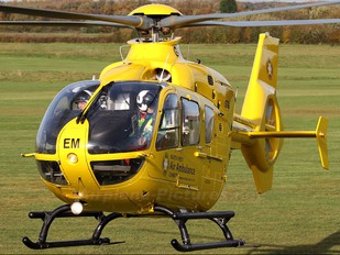 G-NWEM - North West Air Ambulance Eurocopter EC135 (all models)