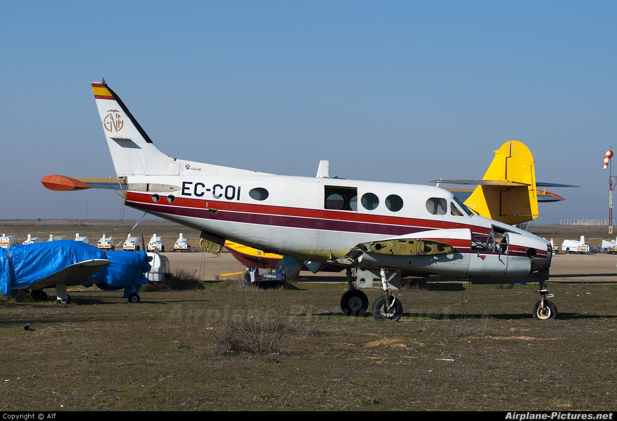 Private EC-COI aircraft at Ocana