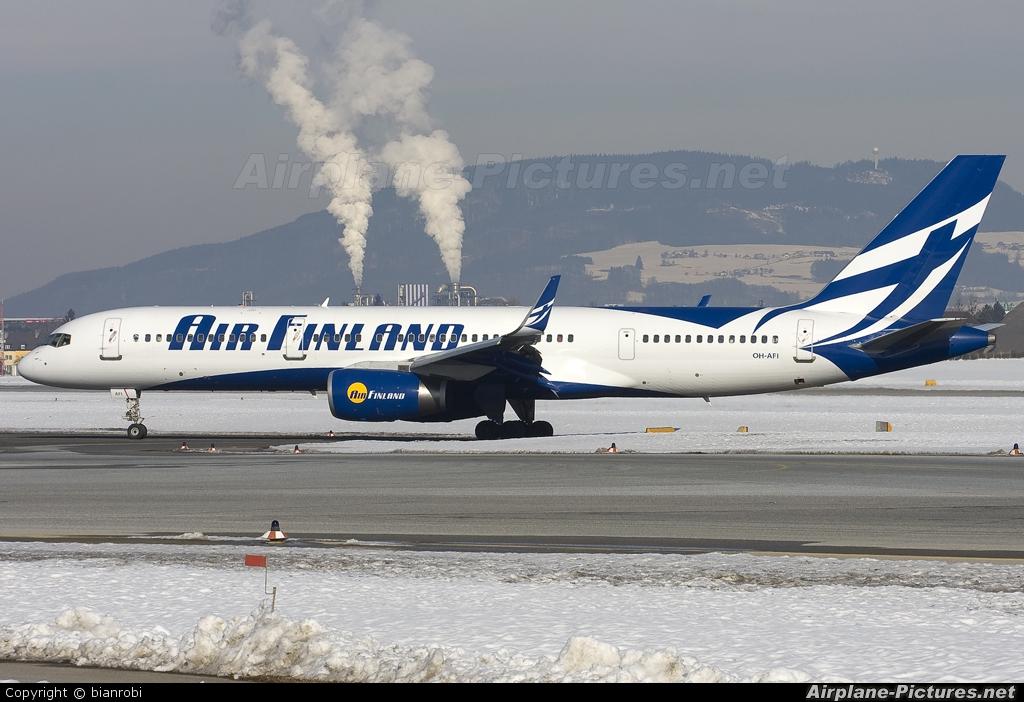 Air Finland OH-AFI aircraft at Salzburg
