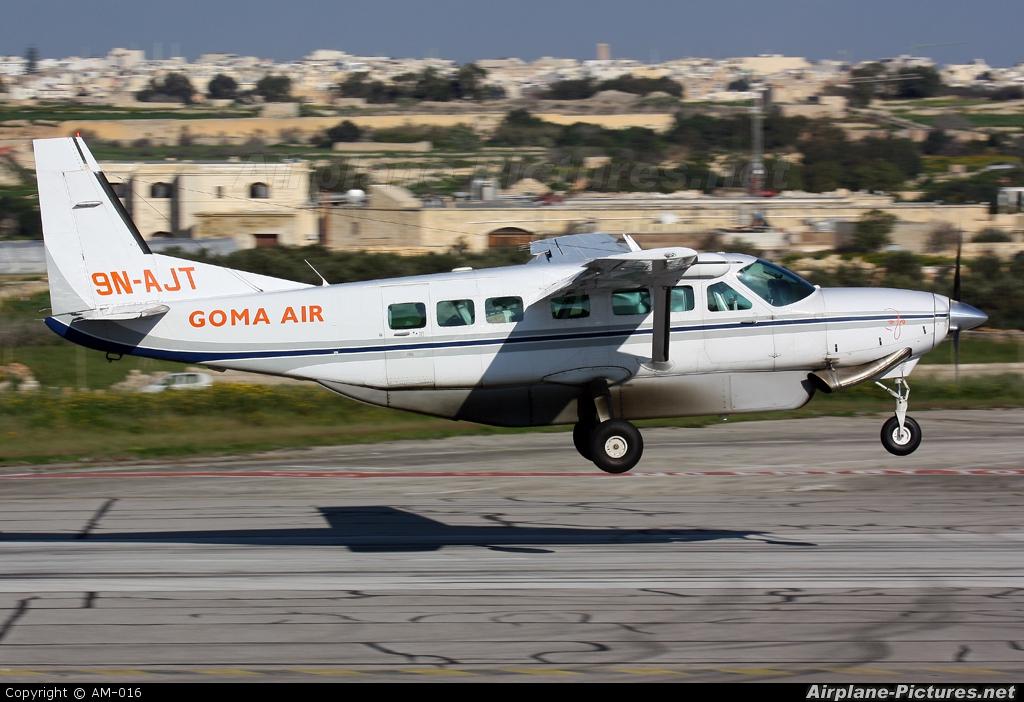 Goma Air 9N-AJT aircraft at Malta Intl