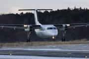 LN-WIO - Widerøe de Havilland Canada DHC-8-100 Dash 8 aircraft
