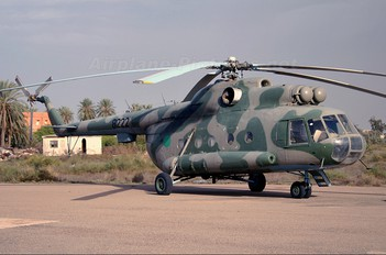 8222 - Libya - Air Force Mil Mi-8