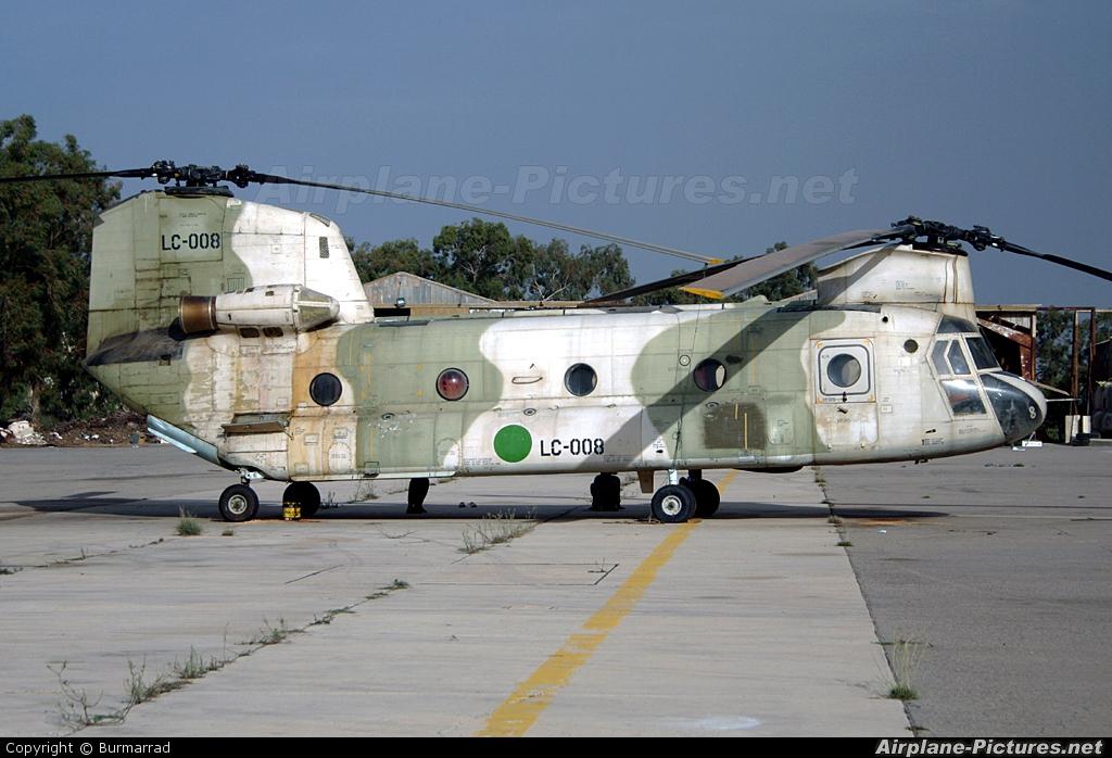 Libya - Air Force LC008 aircraft at Mitiga