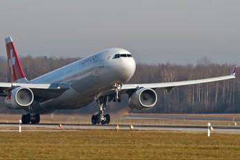 HB-JHA - Swiss Airbus A330-300