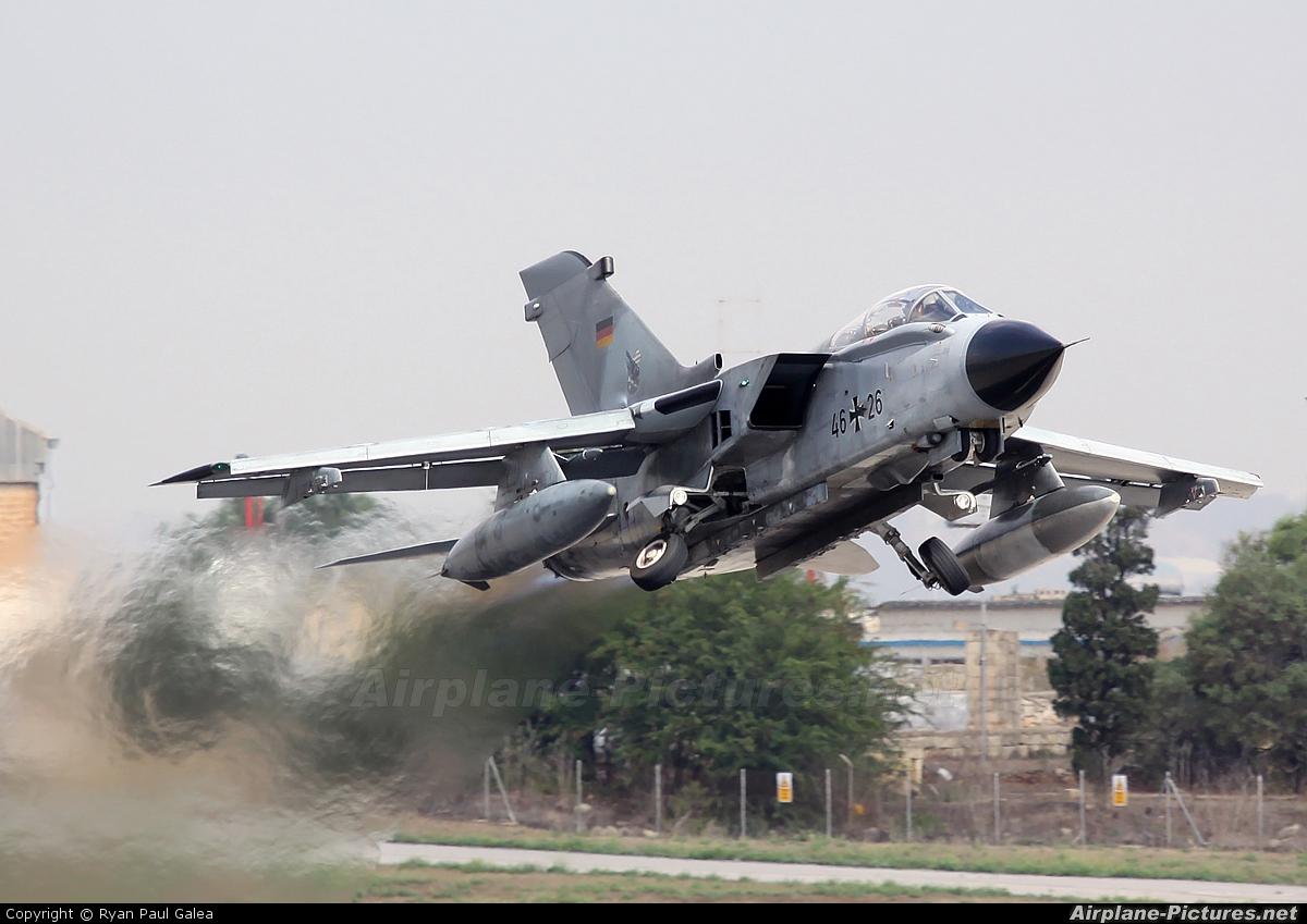 Germany - Air Force 46+26 aircraft at Malta Intl