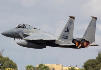 84-0019 - USA - Air Force McDonnell Douglas F-15C Eagle