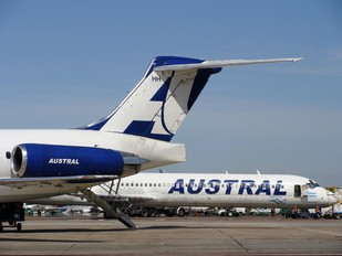 LV-BHH - Austral Lineas Aereas McDonnell Douglas MD-83