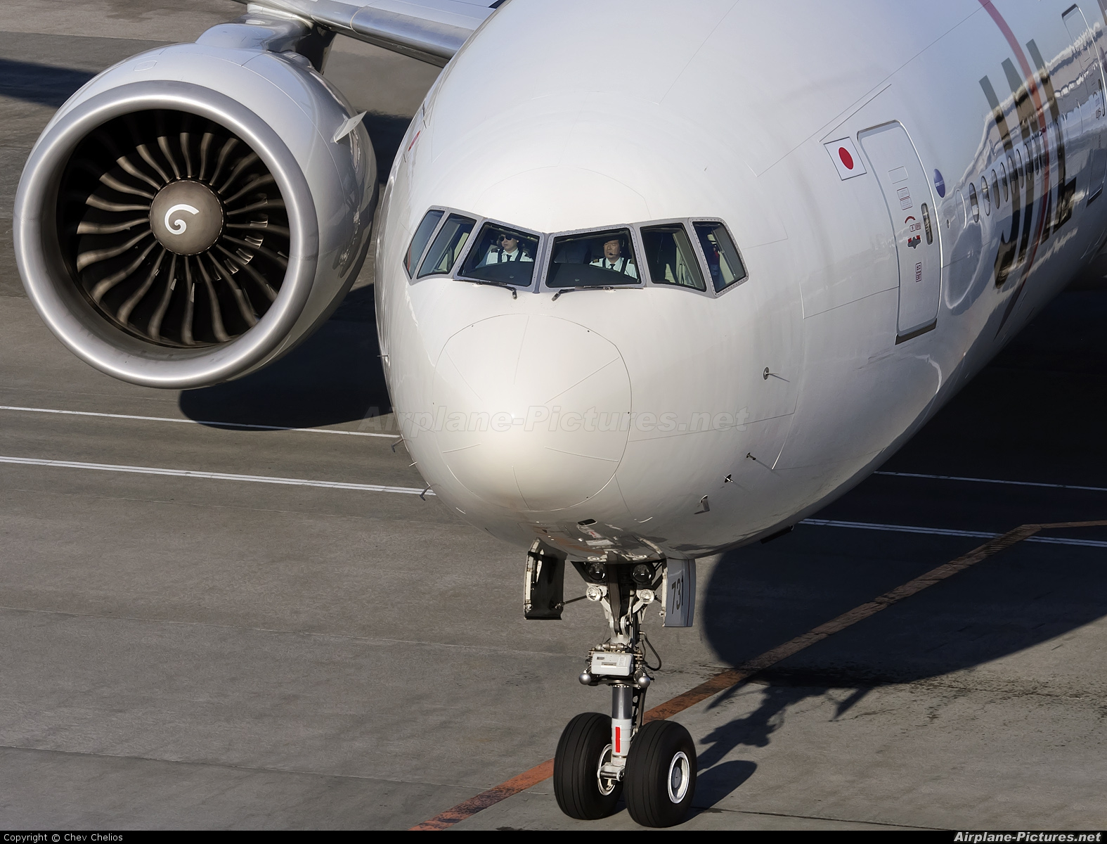JAL - Japan Airlines JA731J aircraft at Tokyo - Narita Intl