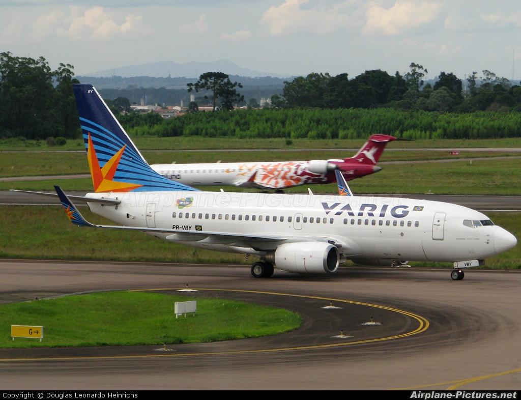 VARIG PR-VBY aircraft at Curitiba -  Afonso Pena