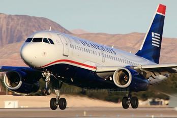 N840AW - US Airways Airbus A319
