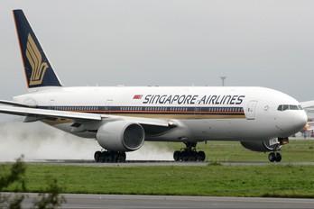 9V-SVE - Singapore Airlines Boeing 777-200ER