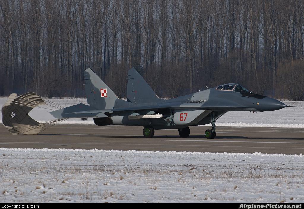 Poland - Air Force 67 aircraft at Mińsk Mazowiecki