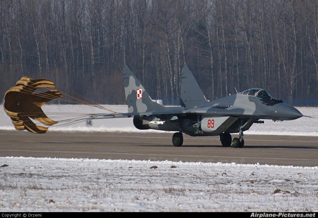 Poland - Air Force 89 aircraft at Mińsk Mazowiecki