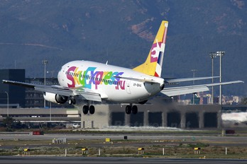 VP-BHA - Sky Express Boeing 737-500