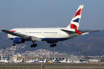 G-BNWZ - British Airways Boeing 767-300