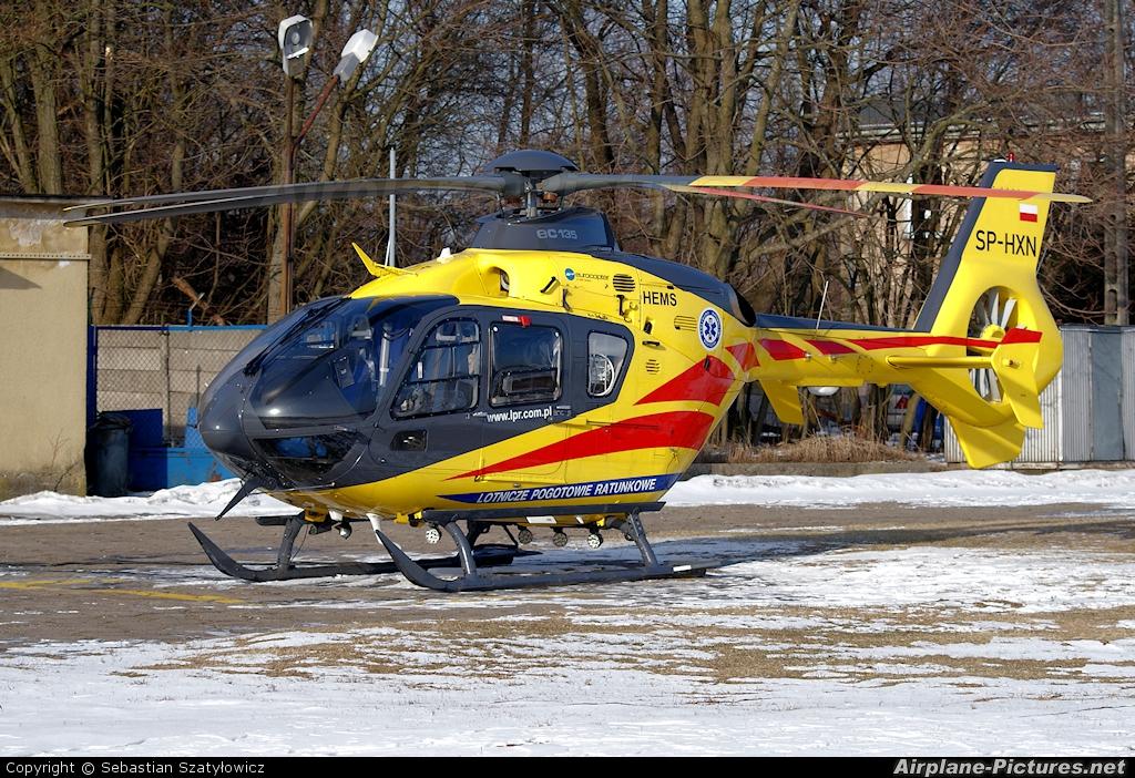 Polish Medical Air Rescue - Lotnicze Pogotowie Ratunkowe SP-HXN aircraft at Białystok - Krywlany