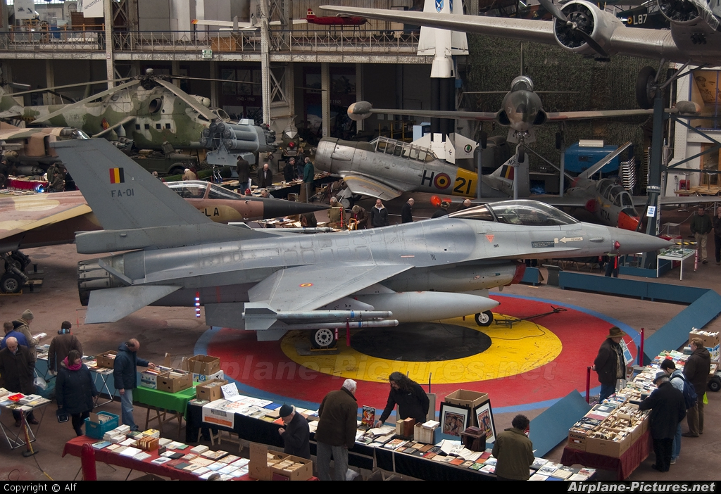 Belgium - Air Force FA-01 aircraft at Brussels - Royal Museum of the Army