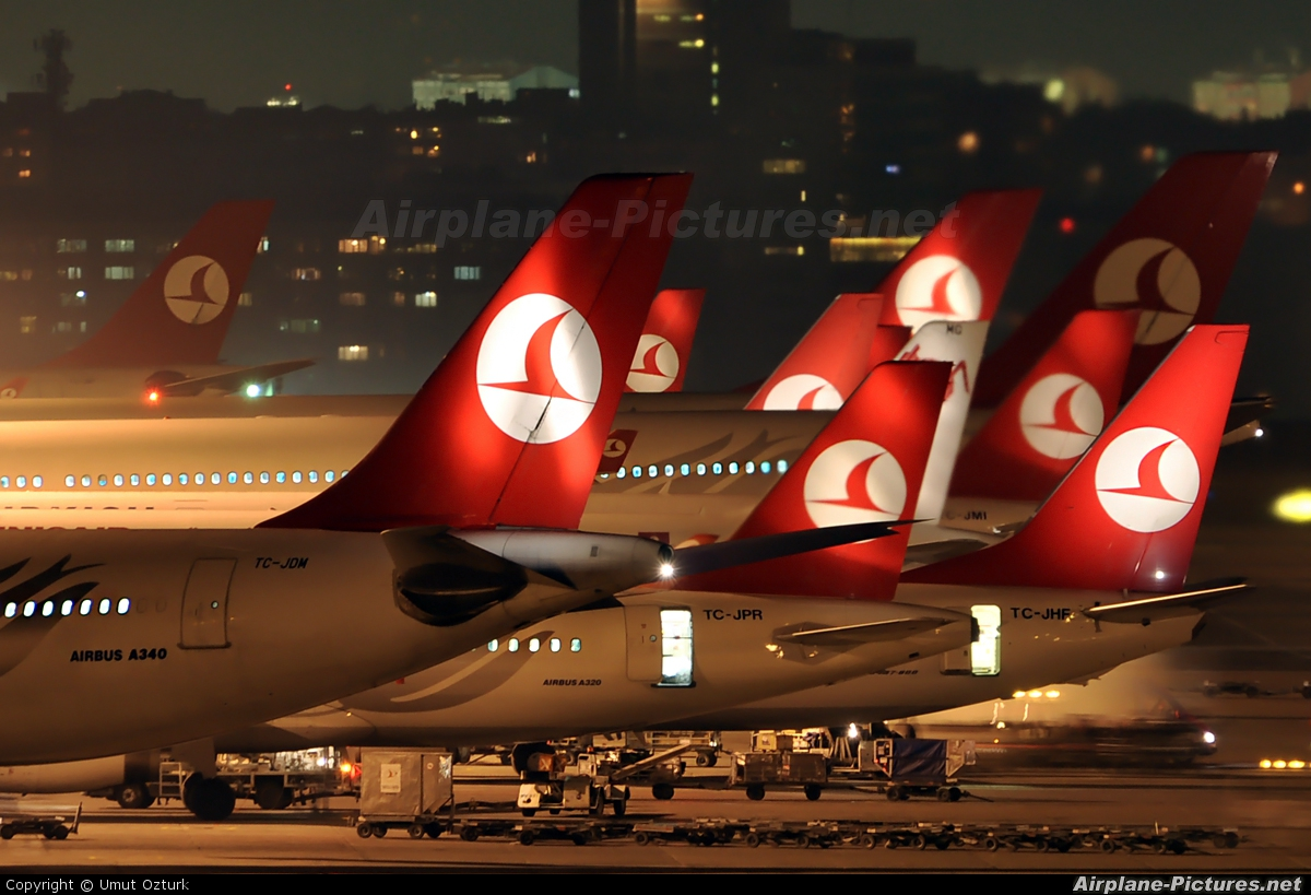 - Airport Overview - aircraft at Istanbul - Ataturk
