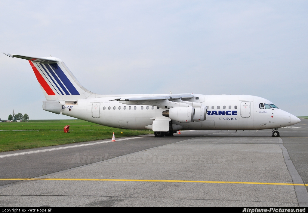 Air France - Cityjet EI-RJP aircraft at Prague - Václav Havel