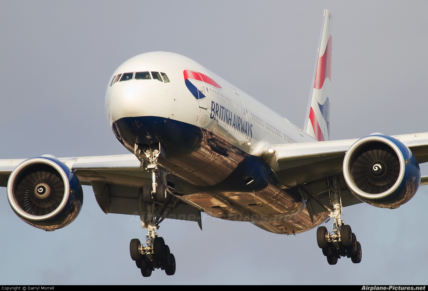 British Airways G-VIIW aircraft at London - Heathrow