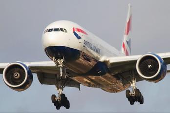 G-VIIW - British Airways Boeing 777-200