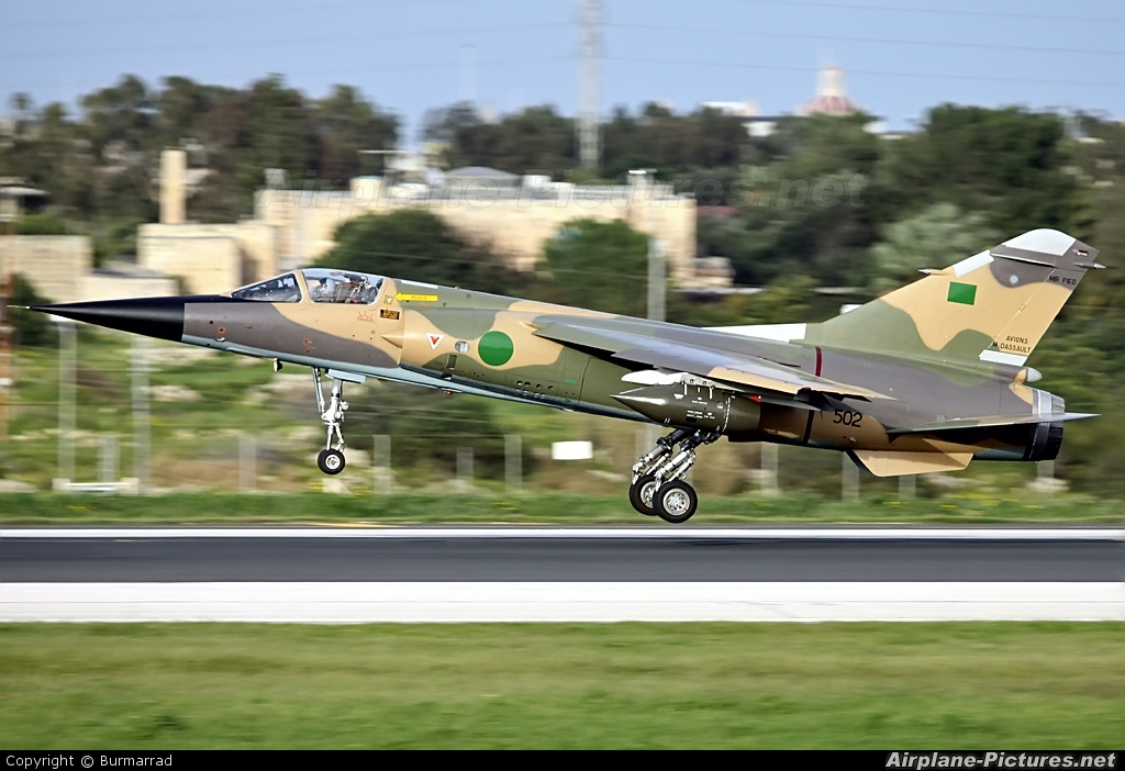 Libya - Air Force 502 aircraft at Malta Intl