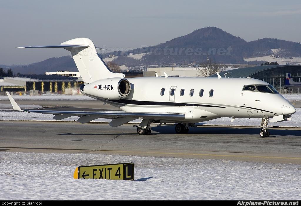 AVAG Air OE-HCA aircraft at Salzburg