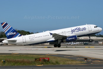 N537JT - JetBlue Airways Airbus A320