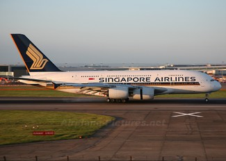 9V-SKB - Singapore Airlines Airbus A380