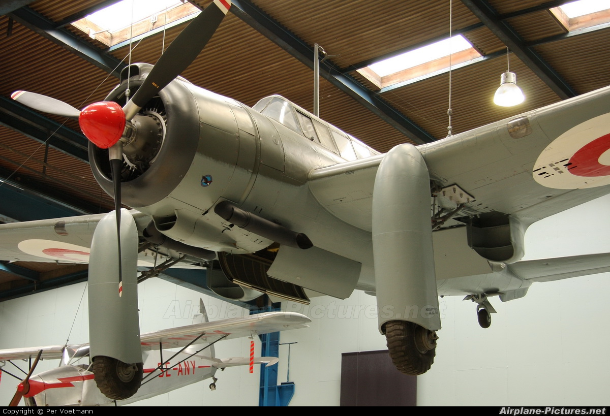 Denmark - Air Force 17320 aircraft at Helsingor - Danmarks Tekniske Museum