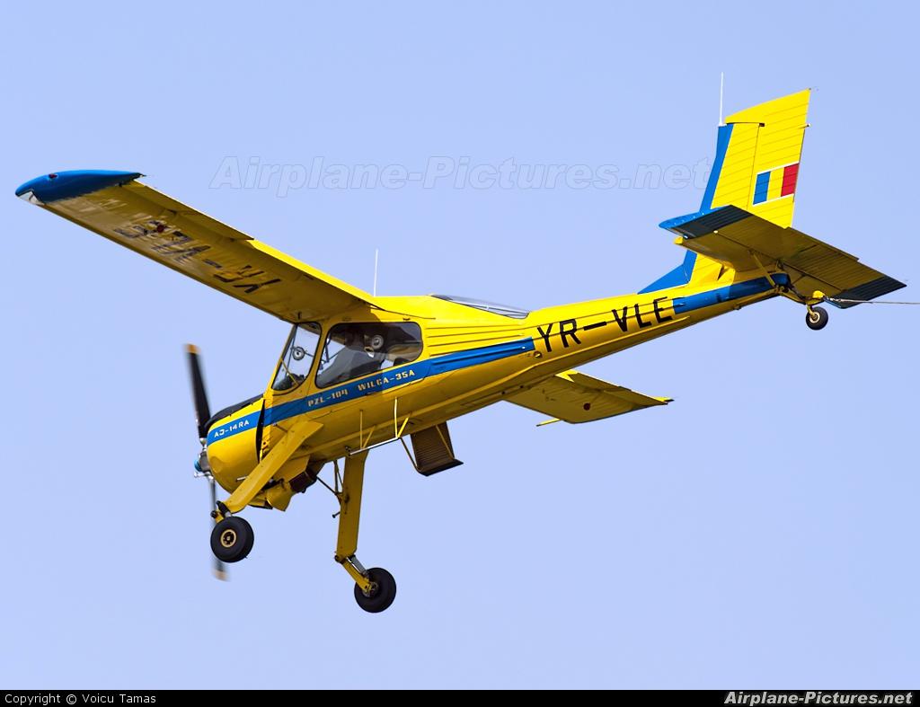 Romanian Airclub YR-VLE aircraft at Timisoara - Cioca