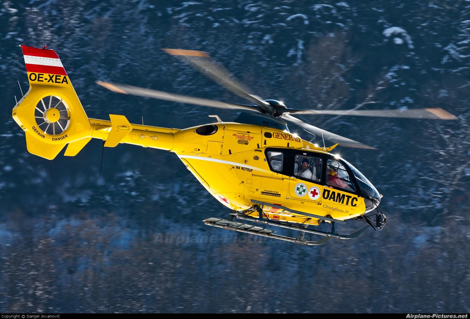 OAMTC OE-XEA aircraft at Innsbruck
