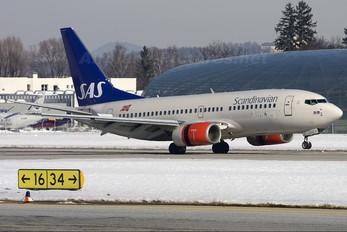 LN-TUD - SAS - Scandinavian Airlines Boeing 737-700