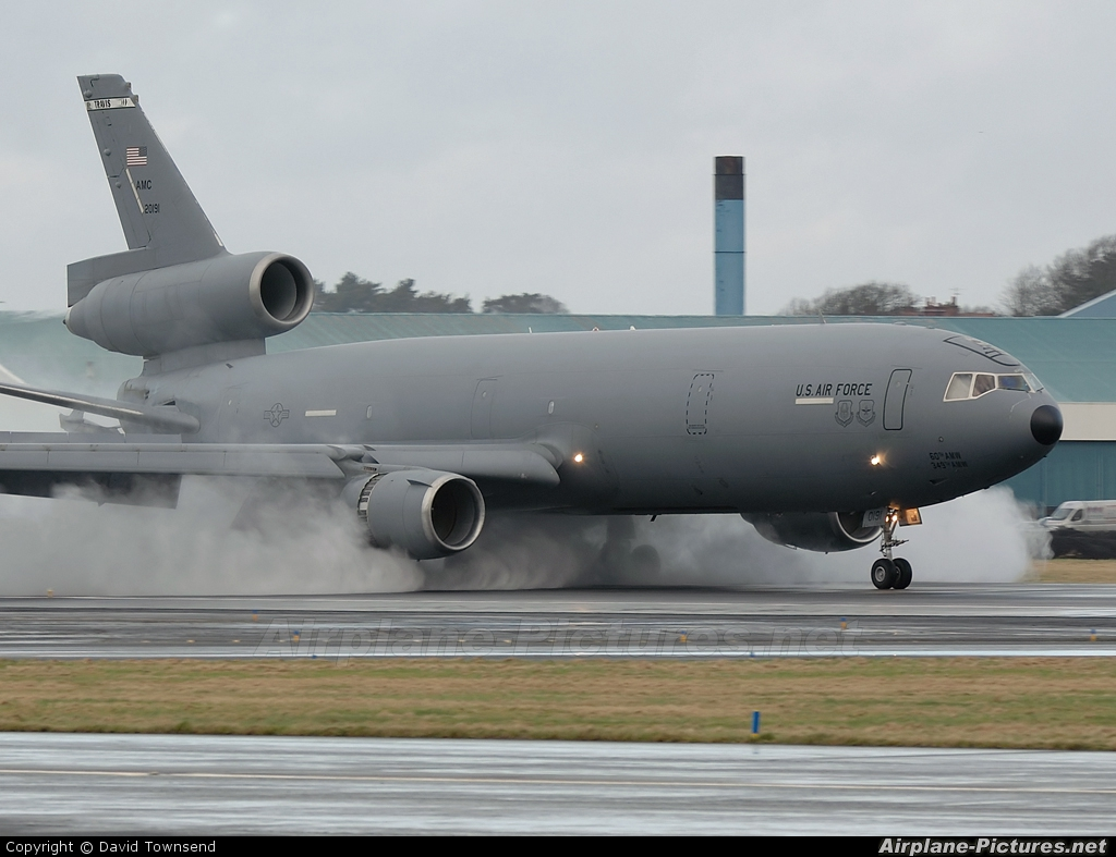 USA - Air Force 82-0191 aircraft at Prestwick
