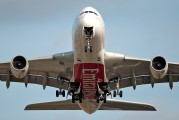 A6-EDK - Emirates Airlines Airbus A380 aircraft