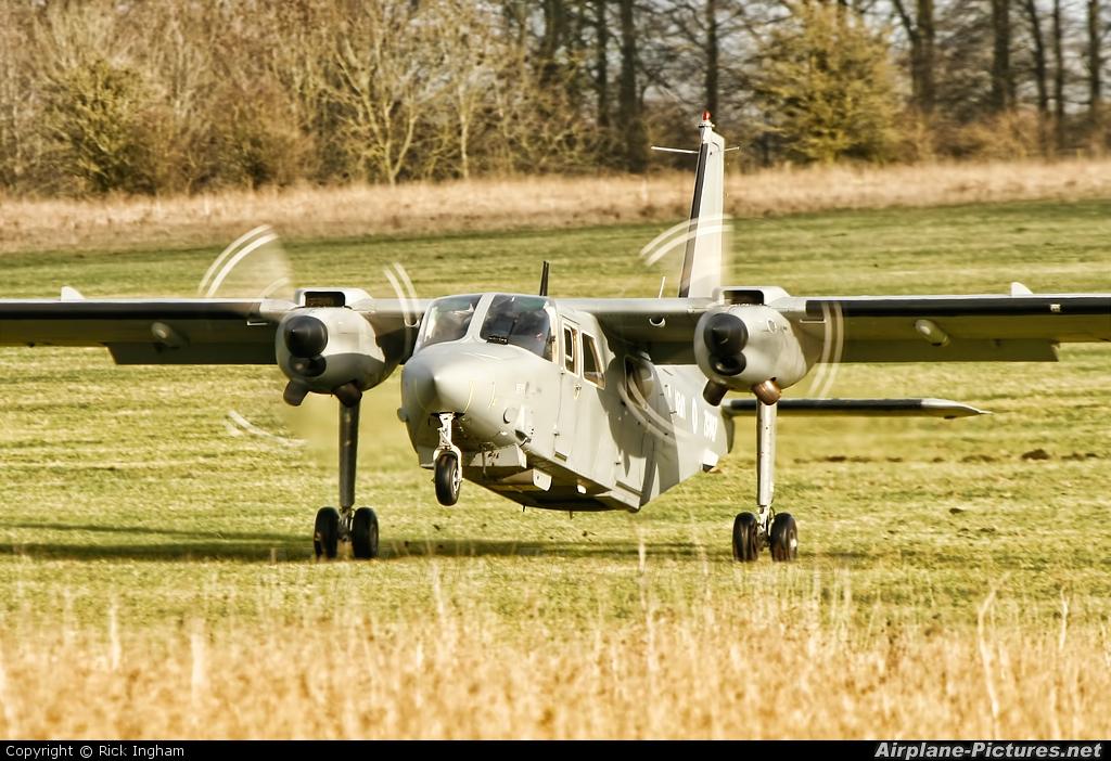British Army ZG847 aircraft at Salisbury Plain SPTA