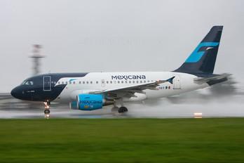 XA-UBT - Mexicana Airbus A318