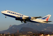 VP-BGU - Transaero Airlines Boeing 747-300 aircraft