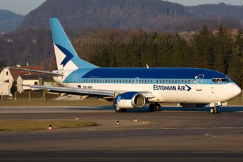 ES-ABK - Estonian Air Boeing 737-300