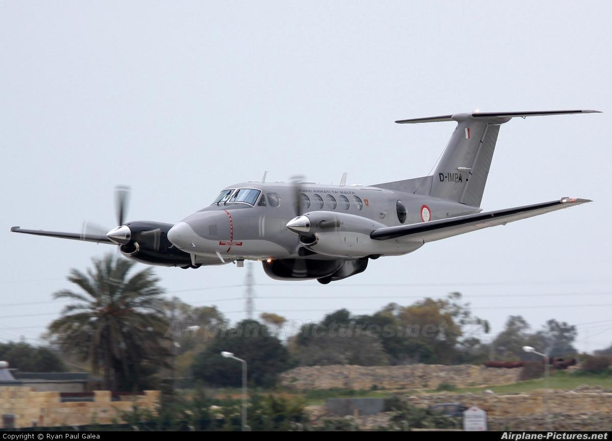 Malta - Armed Forces D-IMPA aircraft at Malta Intl