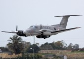 D-IMPA - Malta - Armed Forces Beechcraft 200 King Air aircraft