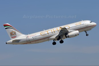 A6-EIJ - Etihad Airways Airbus A320
