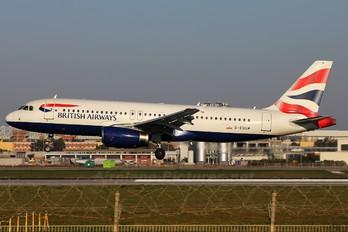 G-EUUM - British Airways Airbus A320